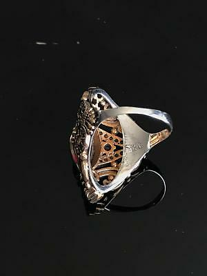 925 Sterling Silver Handmade Authentic Turkish Amethyst Ladies Ring Size 6-10 3