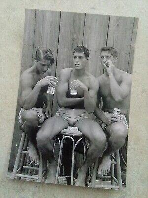Vintage Gay Buds & Suds Photo Bizarre Odd Freaky Strange 2