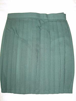 "GYMPHLEX Girls/Ladies BOTTLE GREEN School Gym Kilt/Skirt W29-32"" 15+ yrs- NEW! 3"