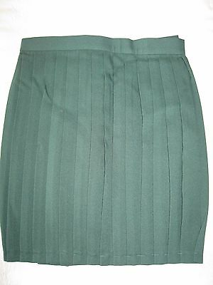 "GYMPHLEX Girls/Ladies BOTTLE GREEN School Gym Kilt/Skirt W30"" 15+ yrs- NEW! 3"