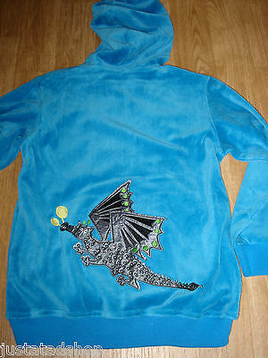 MIOMYMIO girl velour jacket/hoodie/top 104 cm 3-4 y BNWT danish designer dragon 3
