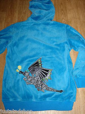 MIOMYMIO girl velour jacket/hoodie/top 104 cm 3-4 y BNWT danish designer dragon 3