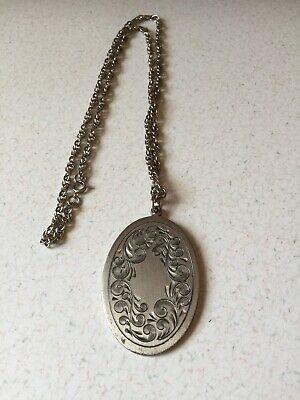 Vintage Pewter Necklace 5