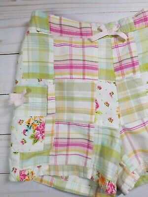Baby Gap Girls Plaid Madras Shorts Size 18-24M EUC 2