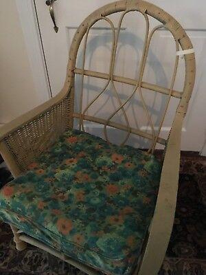 Antique wicker chair 2