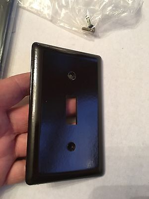 Hardware Store NEW OLD STOCK Dark Brown Light Switch Cover 4