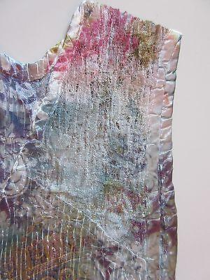 560a0dcd423 ... NWT KOMAROV Floral Print Lace Trim Inset Crinkle Sleeveless V-Neck  Dress XS  278 3