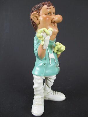 Zahnarzt mit Zahn Dentist Funny Beruf Figur Profession 16 cm Neu 5