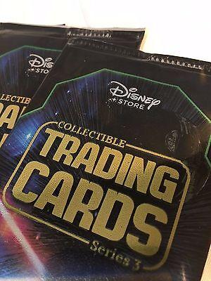 Lote de 10 Paquetes Serie 3 Disney Store Star Wars Coleccionable Cartas 5