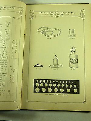 Buch Katalog Sächsische Verbandstoff Fabrik Dresden Radebeul Ploehn Von 1902 8