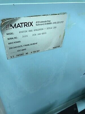 Matrix System One Stripper Matrix 20x  AWD-D-2-5 11