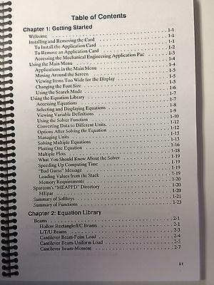 Hewlett packard 48sx calculator manual.