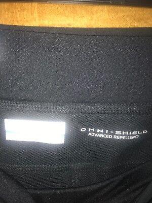 Nuova con Etichetta Columbia Rock Beauty da Donna Nero Pantaloni Lunghi - 3