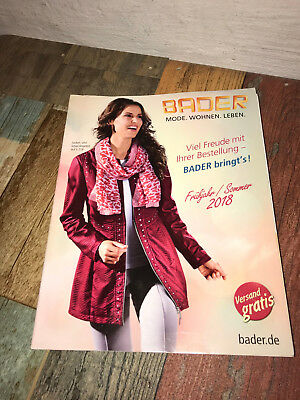 Katalog Bader Frühjahr Sommer 2018 Mode Wohnen Leben Eur 899