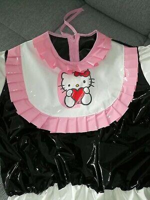 Adult Baby Body Spreizbody Windelbody DIAPER SPREIZHOSE PVC LACK HALLO KITTY XL 11