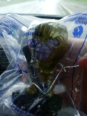 #23 Thanos Mcdonalds Avengers End Game Happy Meal 2019, Never Opened, Ultra Rare 2