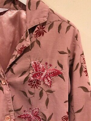 Monsoon Lovely Girls Pink Jacket Age 6-8 Years Very Good Condition 2