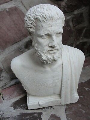 Hippokrates Von Kos Büste Figur Griechischer Arzt Stuckgips Kopf Statue Crem