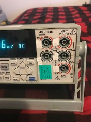 ADCMT AD74461A Commercial Digital Multimeter Nice Unit! 5