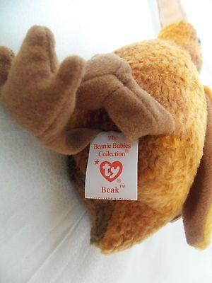 TY Beanie Babies Big Bird ** BEAK ** 5th Gen New with Tag