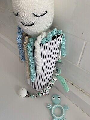 Pulpo Crochet + Chupetero Personalizado + Mordedor 3