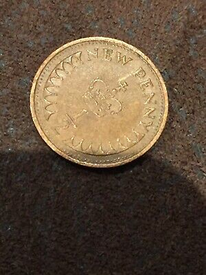1971 Uk Gb Decimal Old 1/2P Half Penny Pence Coins 2