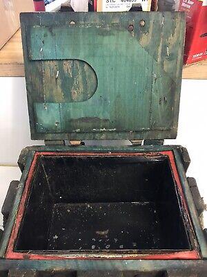 Vintage Antique Mars Equipment USA Wooden Box E.F.S. INC New York US MFG 5