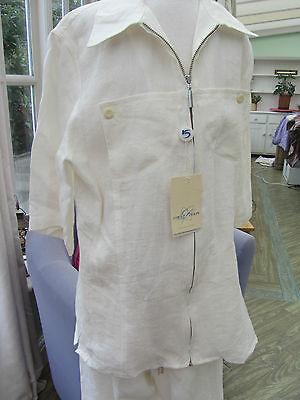 Italian Linen suit Varci age 15years RRP £75 6