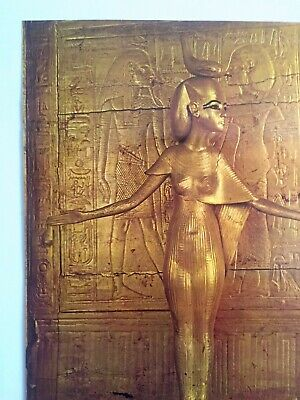 "Rare Vintage 1976 ""Treasures Of Tutankhamun"" Iconic Lrg Museum Exhibition Poster 5"