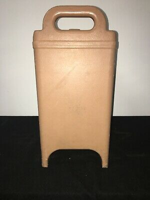 Cambro Tan Insulated Soup/Beverage Carrier 350LCD 3.3/8 Gallon Capacity. #1L 6