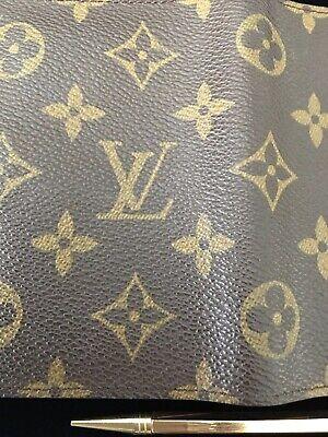 Louis Vuitton Mini Agenda Cover with Pencil Monogram Canvas 9