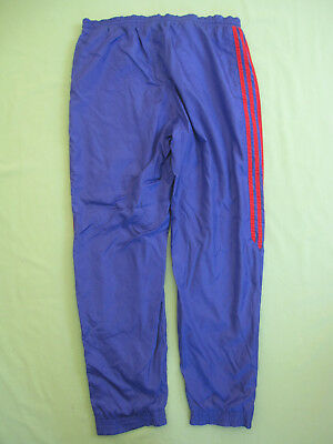 PANTALON ADIDAS VINTAGE Nylon Violet Toile 90'S Survetement