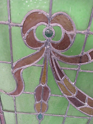 Large Vintage American Candy Store Stained Glass Window (2375)NJ 4