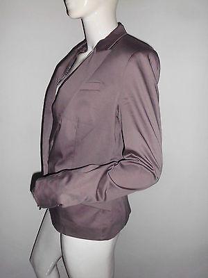 2 1 Suit Mango Femme Classique Bouton Taupe Superbe Ceintre Veste wqSAza7