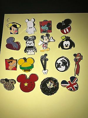 Disney Pin Trading Lot of 30 Assorted Pins NEW No Doubles 100% Trad-able  Disney 2