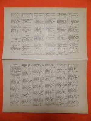 Neuyork New York Manhattan Central Park Hudson Brooklynl  City map 1895