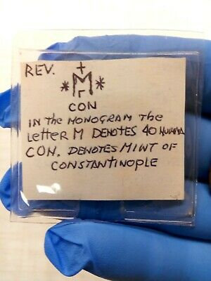 ANASTASIUS 491AD Ancient Medieval Byzantine Follis Constantinople Coin i79944 10