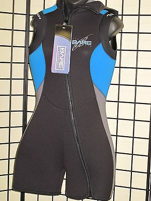 NEW 5MM BARE VELOCITY WOMENS STEP-IN HOODED VEST SCUBA DIVING SIZE 18 WETSUIT