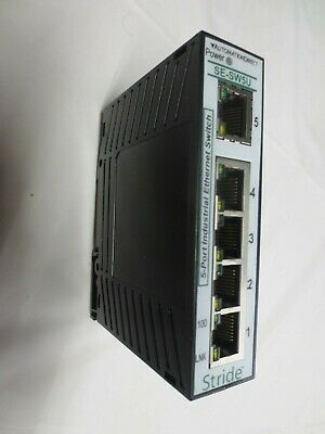 AutomationDirect Stride SE-SW5U Rev 1.01 5-Port Industrial Ethernet Switch