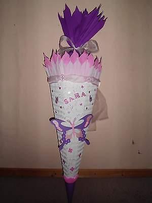 Traumhafte Schultüte für kleine Mädchen//Schmetterling