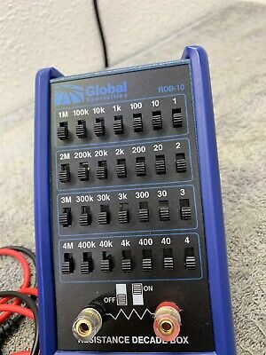 Global Specialties RDB-10 Handheld Resistance Decade Box 5