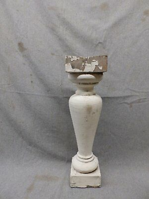 1 Antique Large Architectural Porch Baluster Shabby Spindle Chic Vtg 982-17P 4