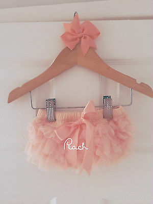 Deluxe Girls Baby Frilly Tutu Knickers Cake Smash Photoshoot 1st Birthday Outfit 6