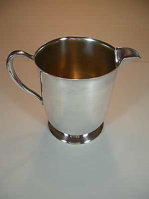 Vintage Academy Silver on Copper Silverplate 6 1/2 Inch Pitcher 4
