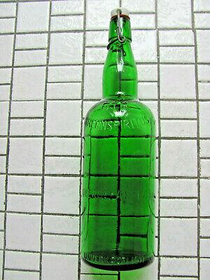 1 L Apothekerflasche *E. MERCK*DARMSTADT* + 1 L Bügelflasche BfB BRENNSPIRITUS 6