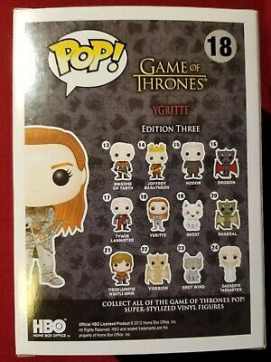 Funko Pop Ygritte Game of Thrones #18 Vaulted/Retired 2
