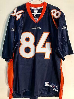 promo code a6e7f b1963 REEBOK PREMIER NFL Jersey Denver Broncos Shannon Sharpe Navy sz 2X