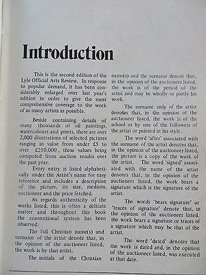 Vintage The LYLE official ARTS review 1976 by TONY CURTIS COMP.BY MARJORIE CLARK 12