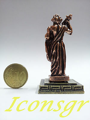 Ancient Greek Olympian God Miniature Sculpture Statue Zamac Zeus King Of Gods