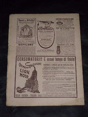 ***corriere Dei Piccoli N. 29 Anno Vi*** 19/7/1914 Con Sovracoperta